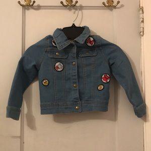 Disney Tutu couture Jean jacket